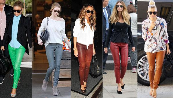 pantaloni-de-piele-colorati